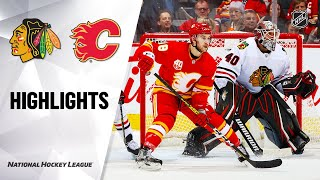 Nhl Highlights | Blackhawks @ Flames 12/31/19