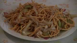Chicken Chow Mein Old Style (Chinese Food Recipe)  Noodles