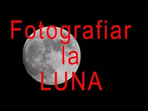 Fotografiar la Luna. Doblejotafoto.