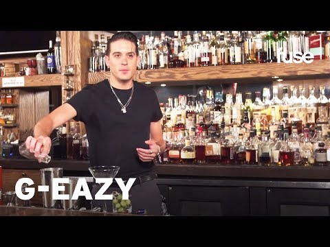 G-Eazy Makes A Dirty Martini | Behind The Bar