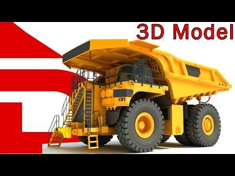 Mining Dump Truck | 3D Models