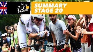 Summary - Stage 20 - Tour de France 2018
