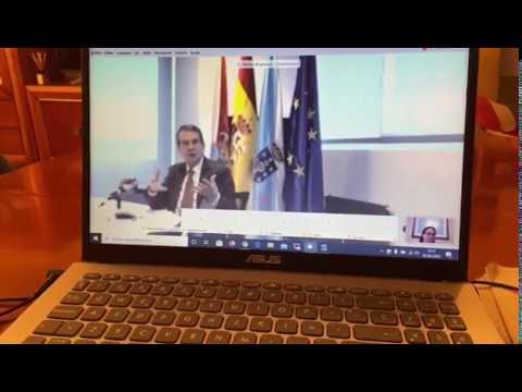 Primera rueda de prensa virtual de Abel Caballero
