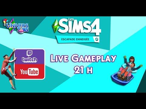 Découvrons le Mont Komorebi ! - Les Sims 4: Escapade Enneigée