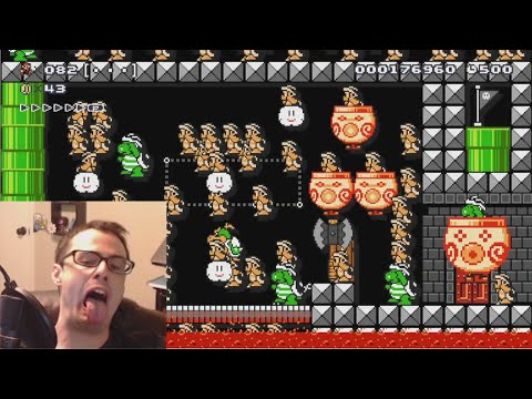 Mario Maker - You Troll Me and I'll Skip You, POKEEEEEMOOOOON! | Super Expert #9