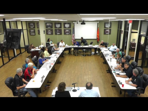 Special Executive and Finance Committee Meeting Part II - 8/28/2017