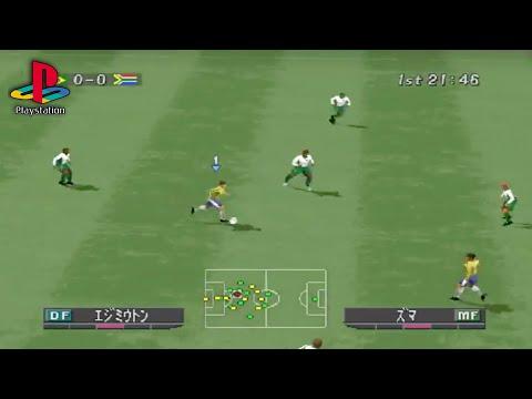 World Soccer Winning Eleven 2002 PS1 Gameplay