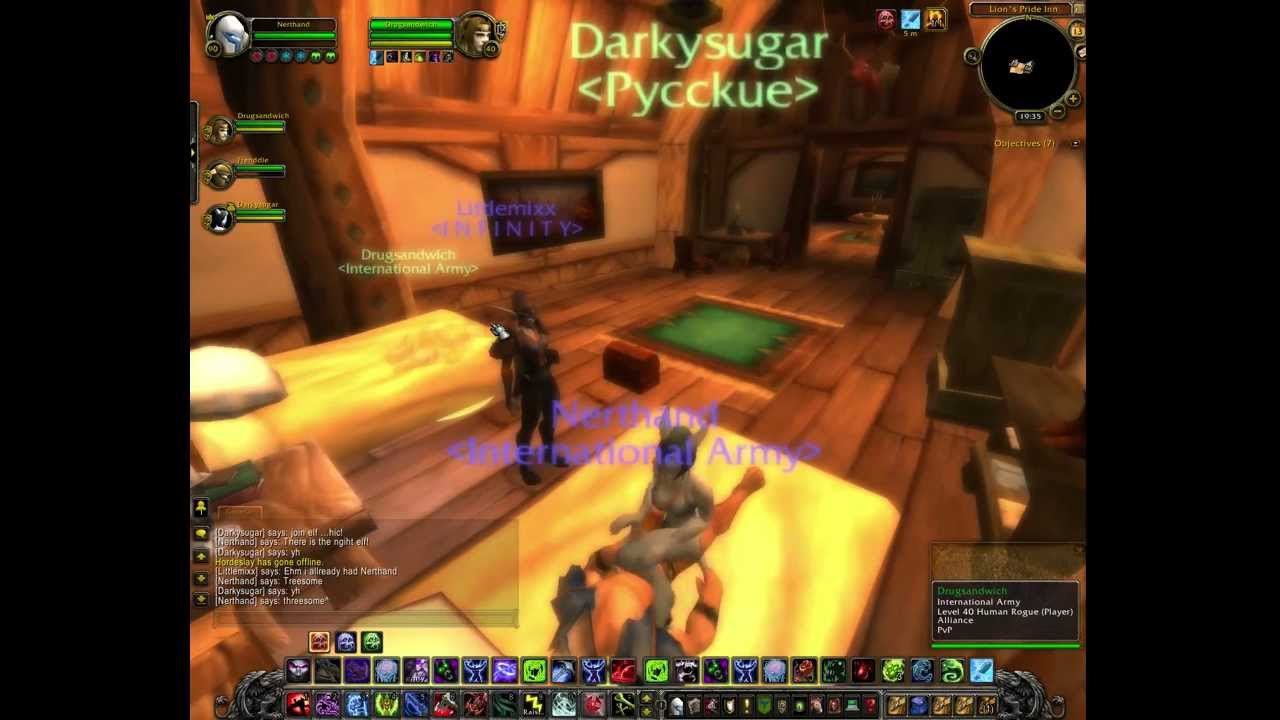 World of warcraft sex mod
