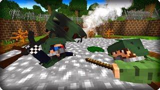 Тону в болоте, помогите! [СЕРИЯ 3] Сталкер в майнкрафт! - (Minecraft - Сериал)