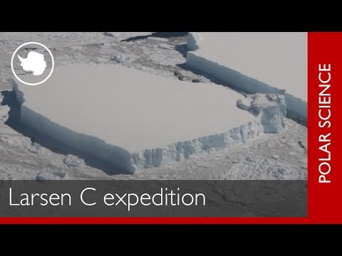 Expedition to Larsen C Ice Shelf