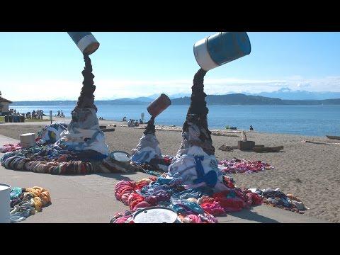Rethink Reuse™ Clothing Spill Installation