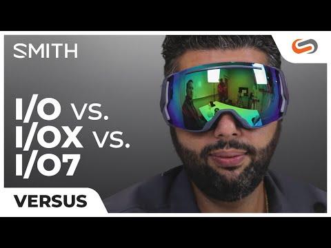 SMITH I/O Vs. I/OX Vs. I/O7 Goggles | SportRx