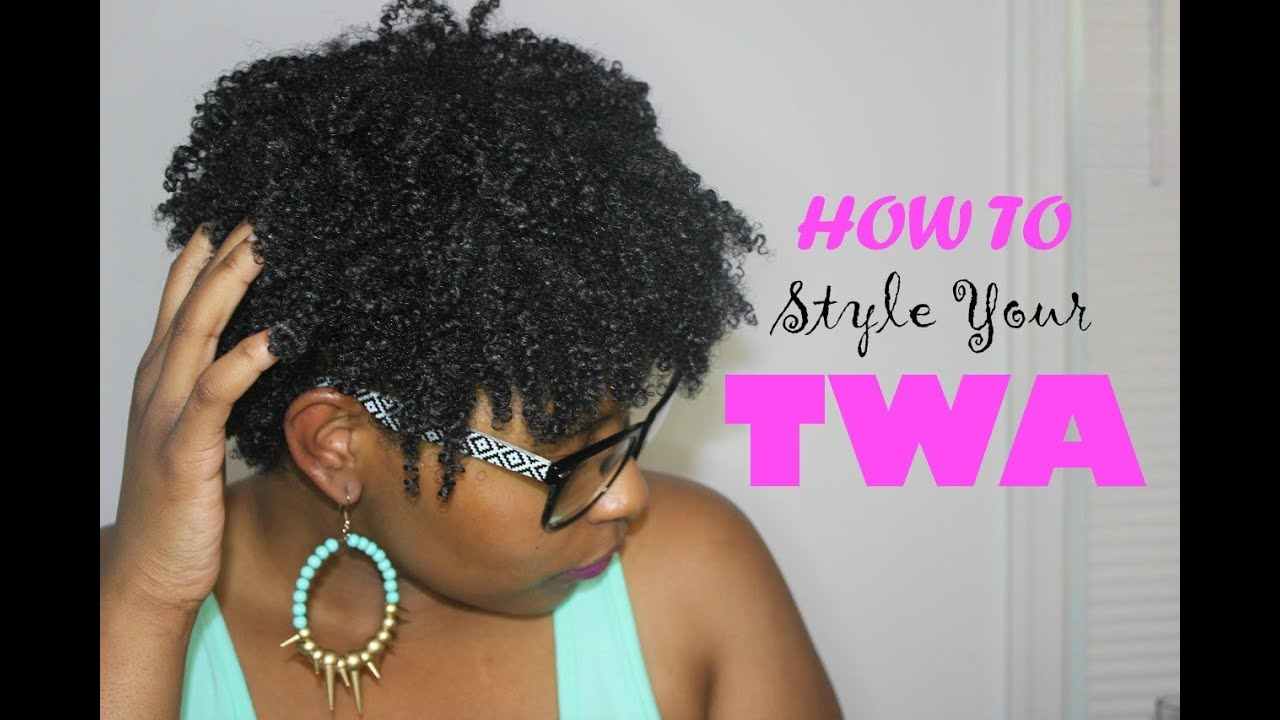"You Tube Natural Hair Styles: How To Wash N Go Short ""Natural Hair"""