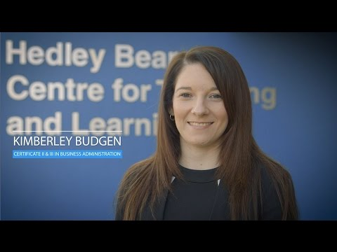 Kimberley Budgen (Certificate III in Business Administration), ACT
