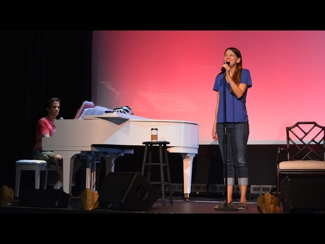 Behind the Scenes: In Rehearsal with Sutton Foster and Seth Rudetsky - Provincetown, MA