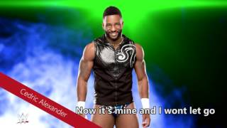 wwe wont let go cedric alexander theme song with lyrics