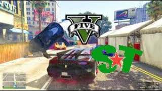 SE LA PEGAN Y ME LA PEGO /GTA V online Grand Theft Auto PS4