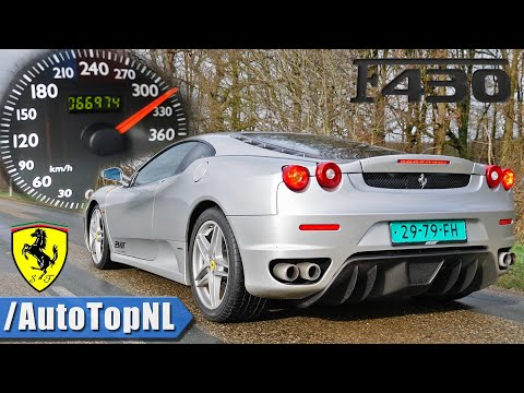 FERRARI F430 310km/h ACCELERATION *AMAZING* Exhaust SOUND By AutoTopNL