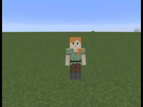 how to get alex skin in minecraft