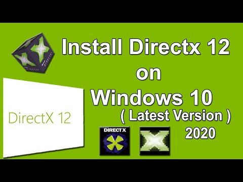 How to Download and Install Directx 12 on windows 10 | latest version 2018 |