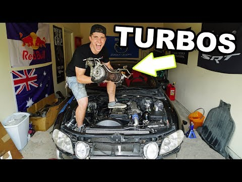 FINALLY removing my 1JZ twin turbos