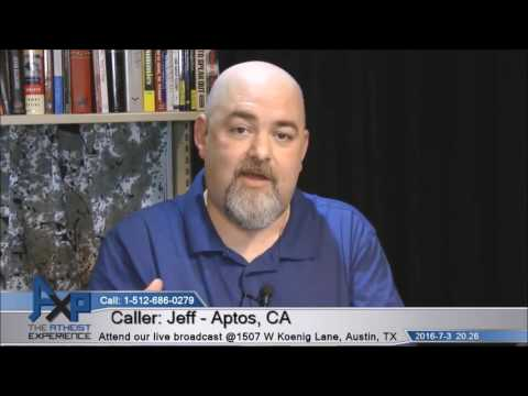 Deist Caller Doesn\'t Have A Clue - Atheist Experience