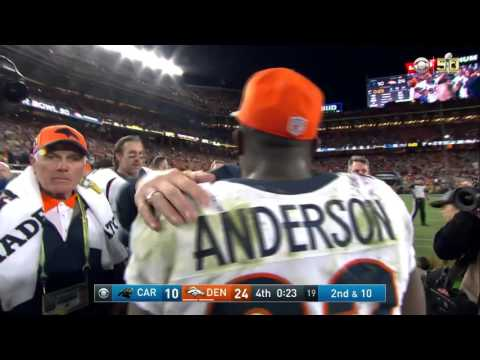 Gary Kubiak Gets a Gatorade Bath as Broncos Celebrate Win! | Panthers vs. Broncos | NFL