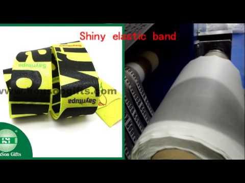 Customized printed elastic waistband wholesale