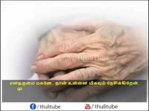 Mother,'s last speech for son....... Really true...