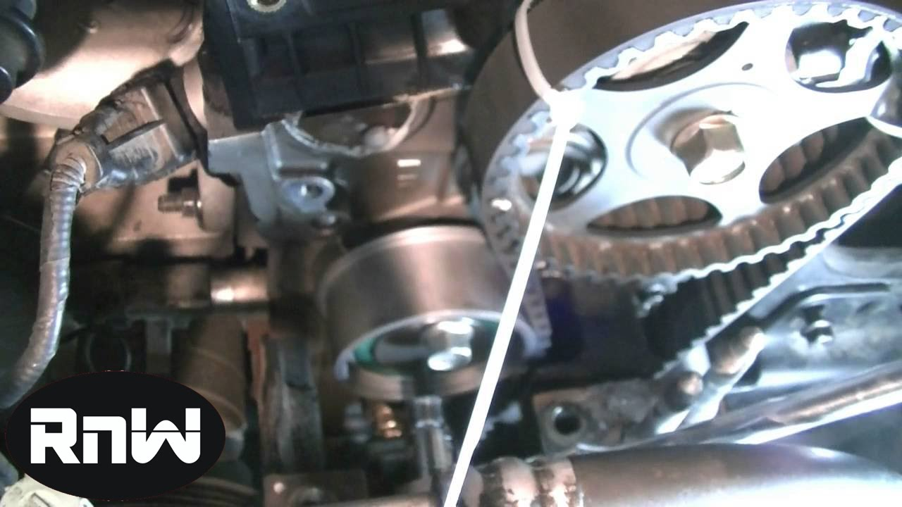 Hyundai Elantra Timing Belt Replacement Part 3 Youtube