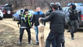 Ucigașul copilașului din Costuleni, la reconstituire