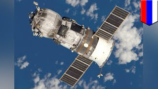 How a robotic Russian spacecraft Progress resupplies the International Space Station