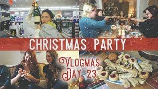 (Lesbian) Christmas Party! / Vlogmas Day 23