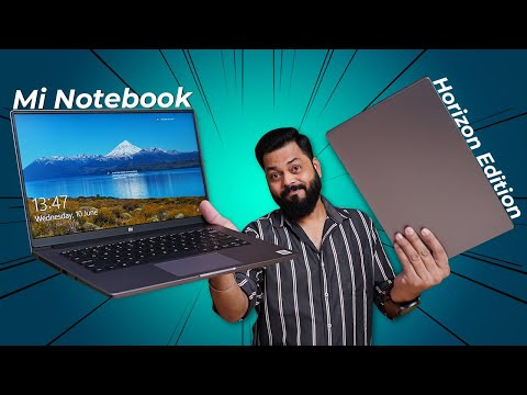 Mi Notebook 14 Horizon Edition Unboxing & First Impressions ⚡⚡⚡ Is It Worth The Hype??