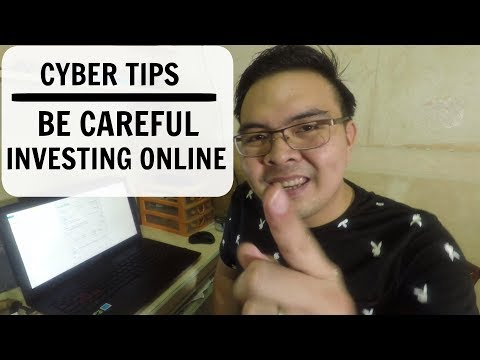 Cyber Tips: Be Careful on your Investments Online and in BTC Cloud Mining - Tagalog