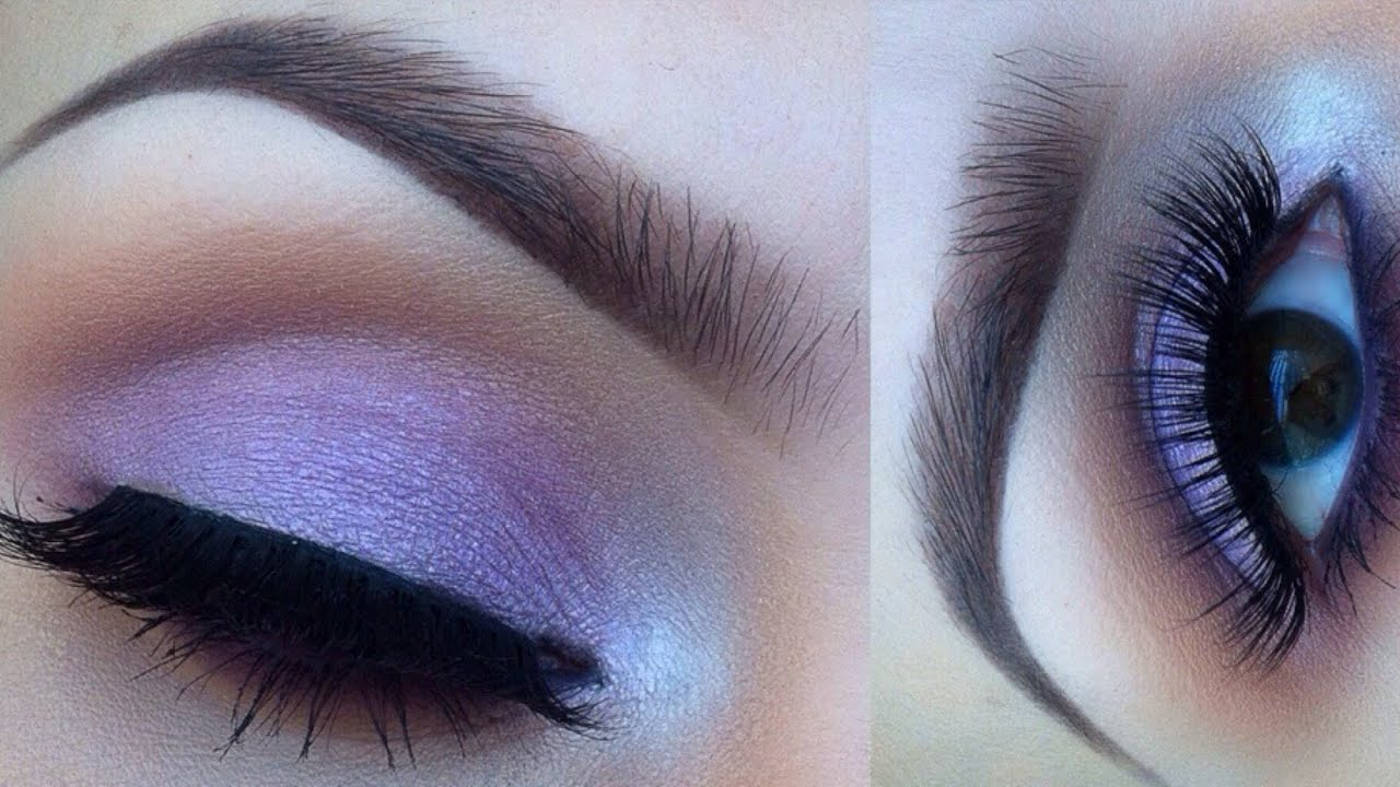 Purple eye makeup ideas