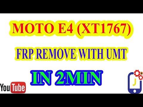 MOTOROLA E4 Verizon / XT1767 USB DRIVERS INSTALL