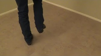 """No.2a Rhythm Two Step (Arizona 2-Step) - """"Basic Footwork"""" - Country Dancing Lessons"""