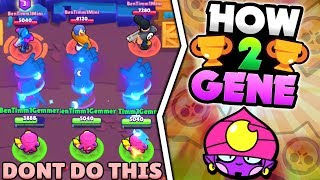 WARNING! DON'T DO THIS WITH GENE IN BRAWL STARS! HOW TO GENE & 500 TROPHY GENE GAMEPLAY