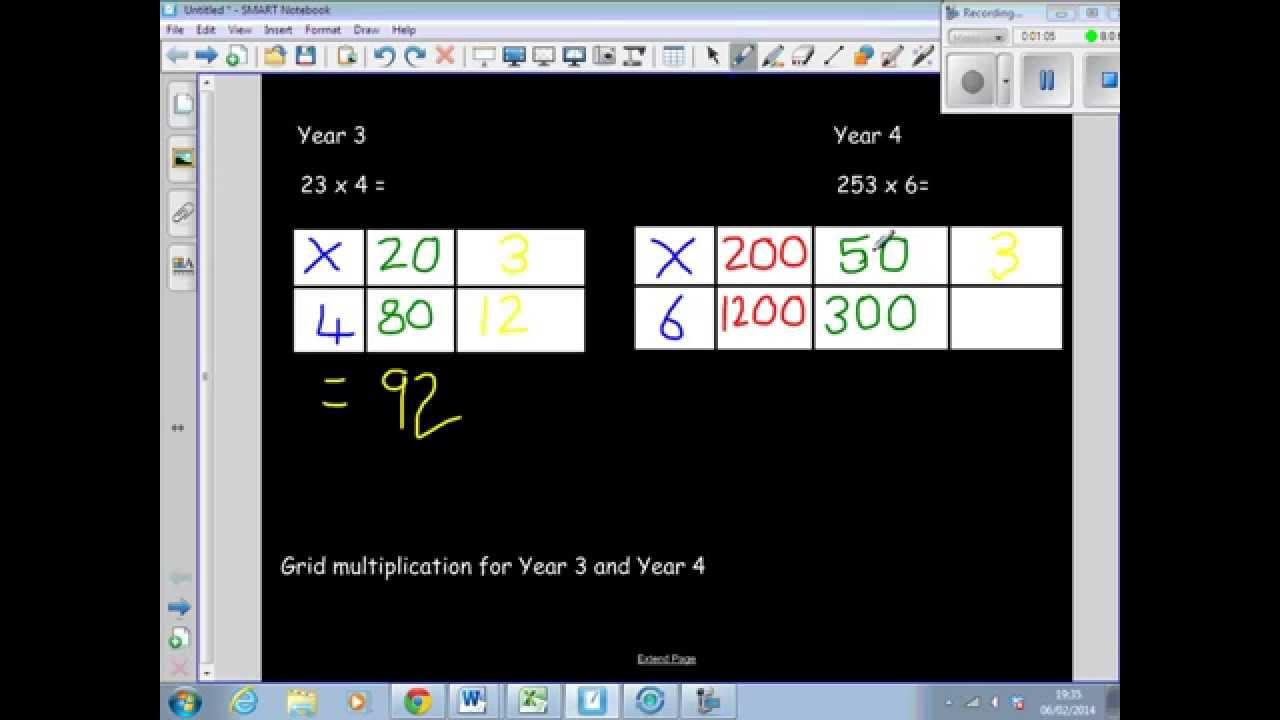 math worksheet : grid method worksheets tu x u  math practice solved problems and  : Ks2 Grid Method Multiplication Worksheet