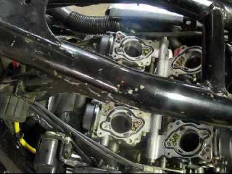 1996 Honda Magna Carb removalflv - YouTube
