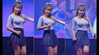 홍진영의 경운기춤 팬서비스