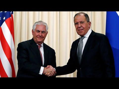 Lavrov to meet Tillerson in DC to talk Syria & Ukraine