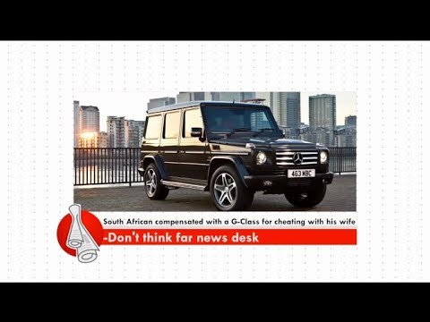 South African compensated with a G-Class... - Don't Think Far News on Adom TV (12-11-17)