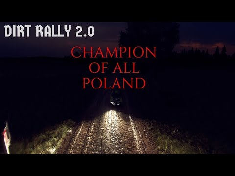 Dirt Rally 20 Champion of all Poland |