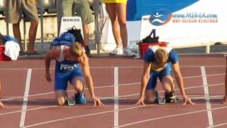 100м Финал Мужчины Чемпионат Украины 2011 Донецк