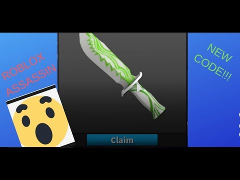 Roblox Assassin Codes For Knives 2018