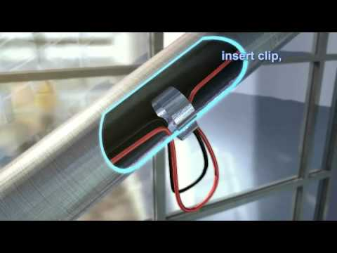 Ledpod   LED Handrail Lighting System   YouTube