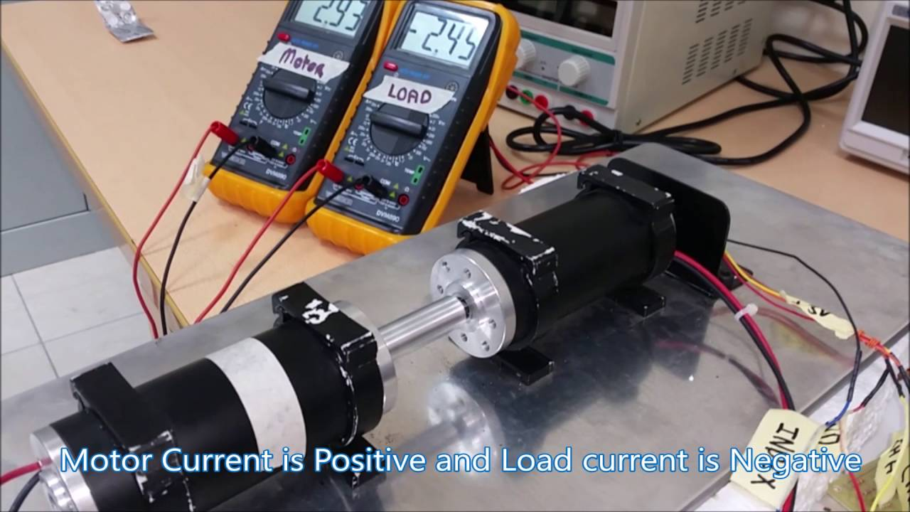 Thesis regenerative braking applied on a dc motor youtube for Eddy current motor speed control