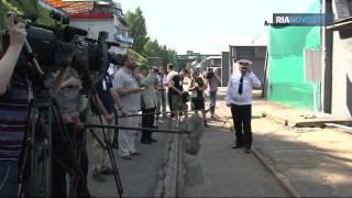 Marinemesse in St. Petersburg: Kunstflüge und Artilleriefeuer